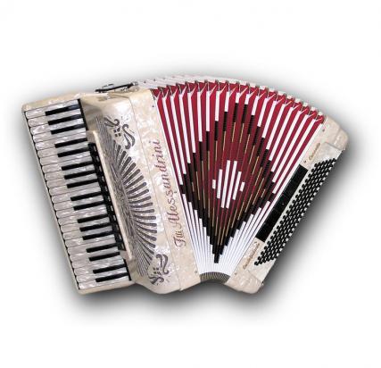 Fisarmonica a piano Mod. 10 Cassotto
