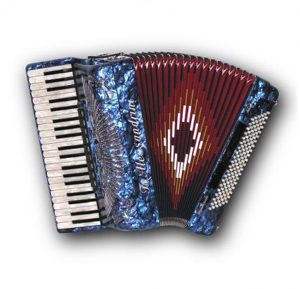 Fisarmonica a piano Mod. 10a Cassotto