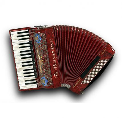 Fisarmonica a piano Mod. 11a Cassotto