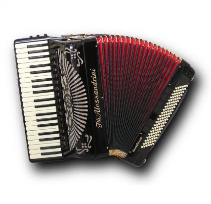 Fisarmonica a piano mod. 11 Cassotto Gold