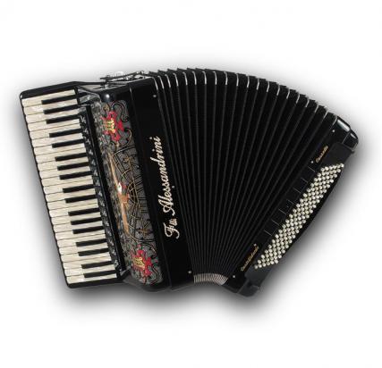 Fisarmonica a piano Mod. 12 Cassotto