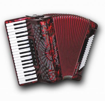 Fisarmonica a piano Mod. 4